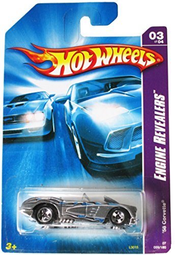 Hot Wheels Engine Revealers 03 of 04 '58 Corvette 059/180 059/180 059/180 by Hot Wheels 2e9a28