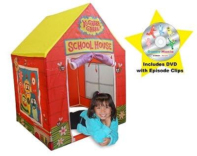 Yo Gabba Gabba Playhouse-School House (Yellow) by Yo Gabba Gabba
