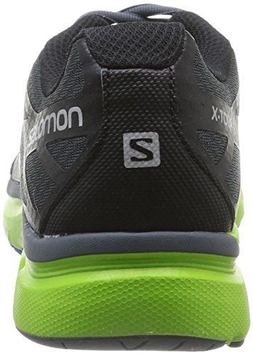 Salomon X-Tour 2 - Zapatillas de running para hombre Grey Denim/Granny Green/Bl