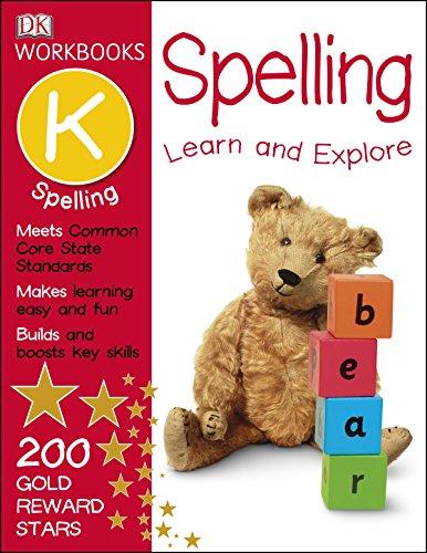 DK Workbooks: Spelling, Kindergarten