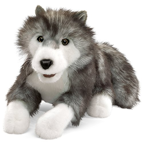 - Folkmanis Timber Wolf Hand Puppet