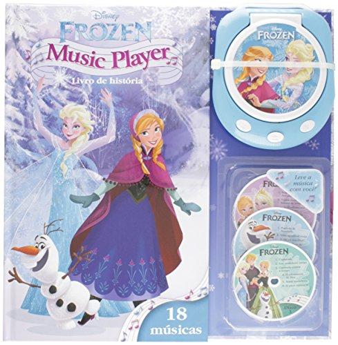 Music Player. Frozen. Livro de História. 18 Músicas