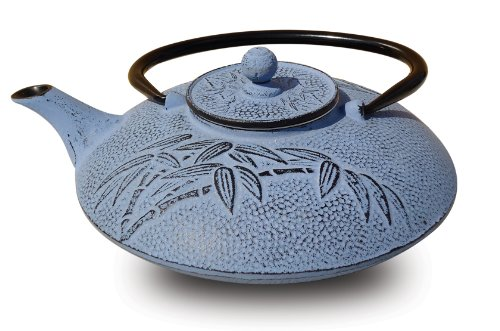 Old Dutch Cast Iron Positivity Teapot, 26-Ounce, Dusk