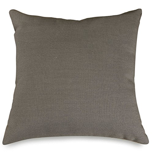 Majestic Home Goods Wales Collection Pillow, X-Large, Gray