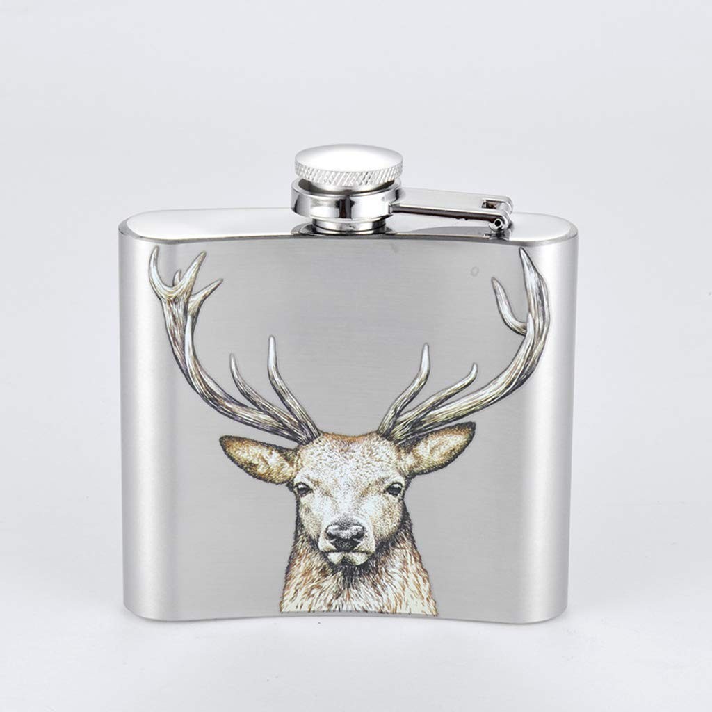SM SunniMix Fiole /à Alcool Whisky Flacon De Hanche Bouteille INOX Hip Flasque