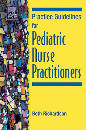 Practice Guidelines for Pediatric Nurse Practitioners