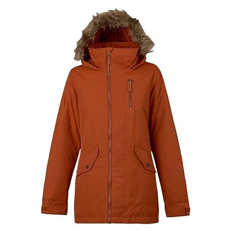 Burton Chaqueta de Snowboard Hazel Jacket, otoño/Invierno, Mujer, Color Picante,