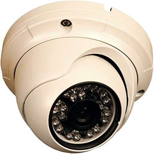 (Security Labs SLC-181 800-Line Resolution Weatherproof IR Turret Dome Camera)