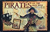 : Pirates on the high seas book and ship set