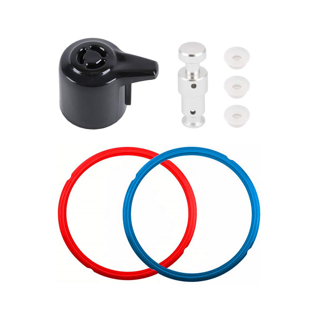 Replacement Parts for Instant Pot Duo 5, 6 Quart Qt Include Sealing Ring, Steam Release Valve and Float Valve Seal (Replacement Parts Set)