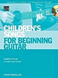 img - for Children's Songs for Beginning Guitar Book/CD (String Letter Publishing) (Acoustic Guitar) by Peter Penhallow (2005-04-29) book / textbook / text book
