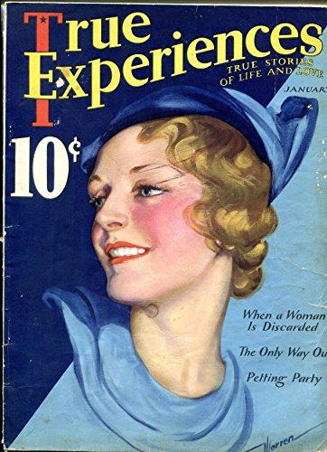 (True Experiences Magazine January 1933- Petting Party- Carole Lombard)