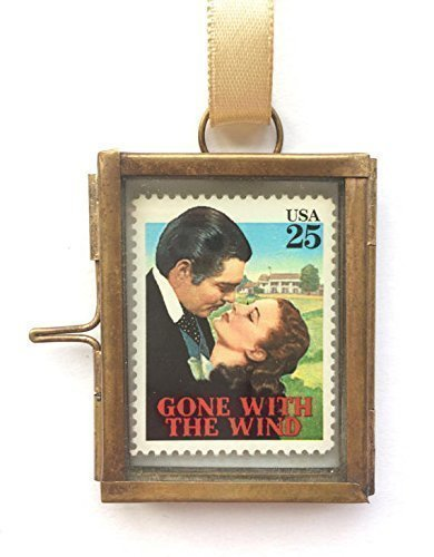 Gone With The Wind Framed Postage Stamp Keepsake Gift