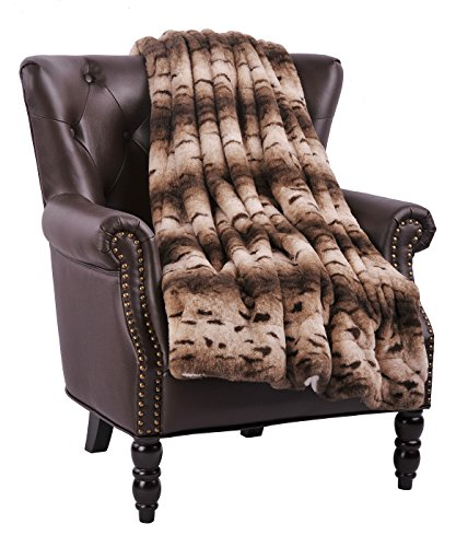 Zebra Faux Fur Throw - 7
