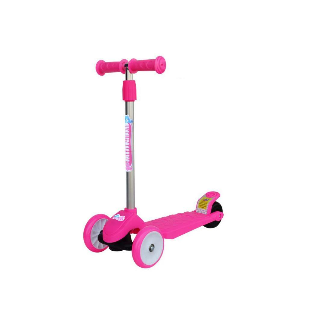 流行に  TLMYDD 子供スクーターサーフペダルスクーターフラッシュ三輪四輪リフト調整男の子と女の子ベビーカーのおもちゃ、55×20×77センチ 子供スクーター (色 (色 : B07NMNVQYC 青) Pink B07NMNVQYC Pink Pink, オンリーWAN:973d3875 --- a0267596.xsph.ru