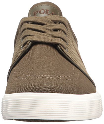 popular sale online Polo Ralph Lauren Men's Faxon Low-Canvas/Corduroy Sneaker Green online sale cheap sale browse FvPKVUVZPf