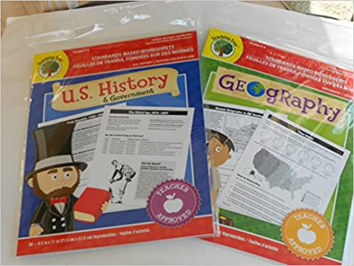 U.S. History & Government Worksheets and Geography Worksheets ...