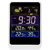 XWB Multi-functional LED Clock Humidity Temperature Detector Sensor Weather Station Alarm Calendar Clock