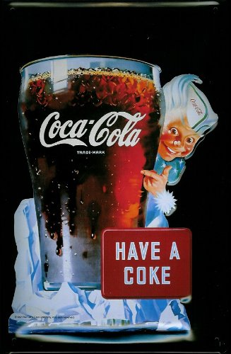 Amazon.com: Coca Cola Sprite Boy Have a Coke Nostalgic 3D en ...