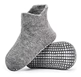 Zaples Baby Non Slip Grip Ankle Socks with Non Skid