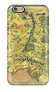 DanMarin Fashion Protective Map Of Middle Earth Case Cover For Iphone 6