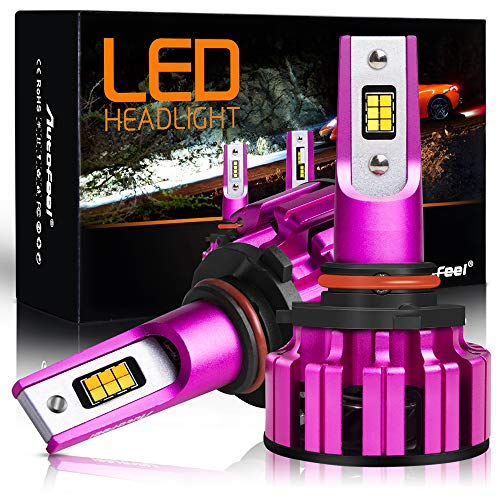 2Tone H11 LED Headlight Bulb Headlamp 9005/HB3 All-in-one Conversion Kit 7200 Lumens 6000K 3500K - 2 Year Warranty
