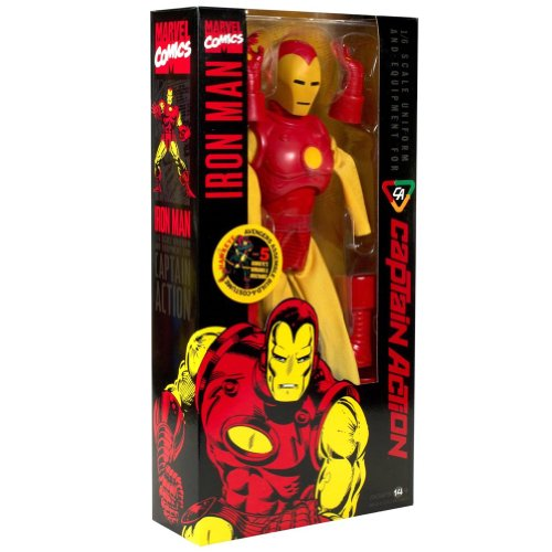 New Captain Action Costumes (Round 2 Captain Action: Iron Man Costume Set)