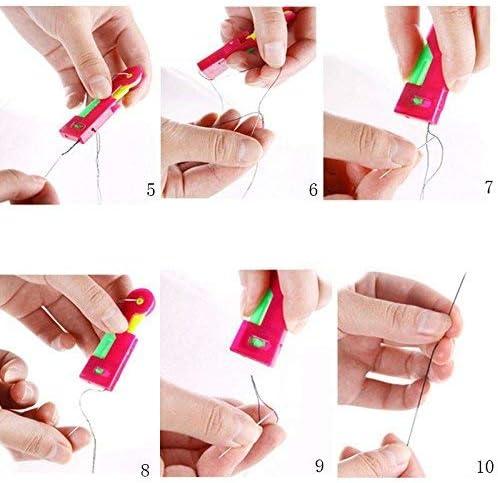 Uteruik 2 St/ück /Ältere einfach zu bedienen unbeeinflusst spontan automatisch Nadeleinf/ädler