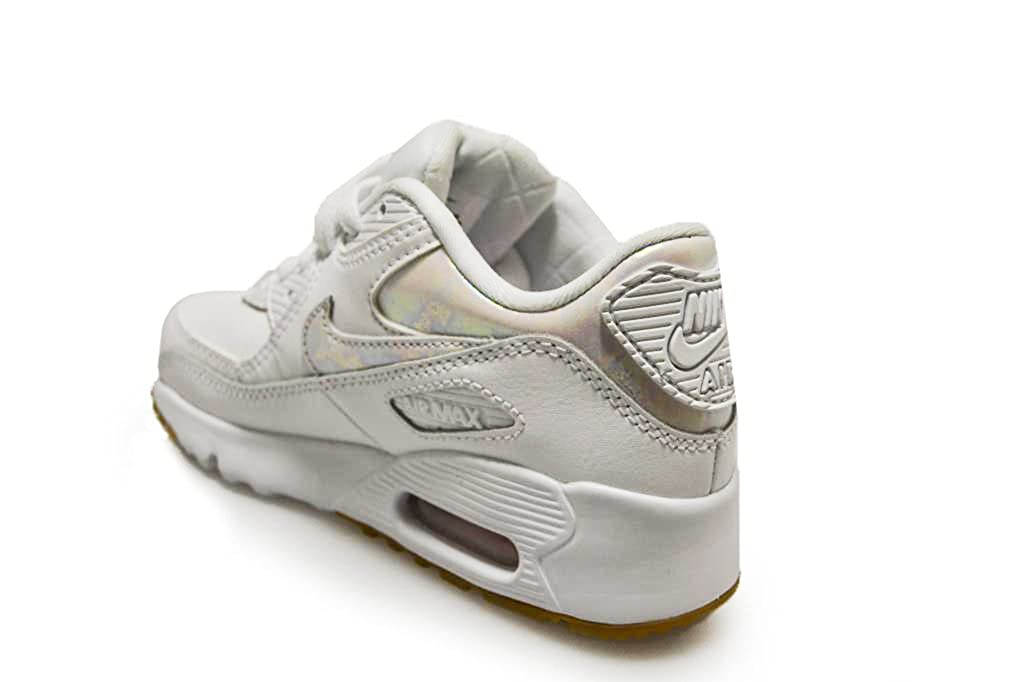 e5c9854cba6d NIKE Kids - Air Max 90 LTR SE GP - White Prism Pink - 897986-101   Amazon.co.uk  Shoes   Bags
