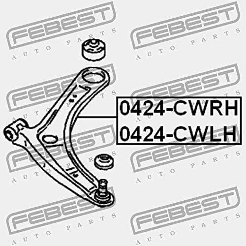 0424-CWRH Febest LEVIER AVANT DROIT