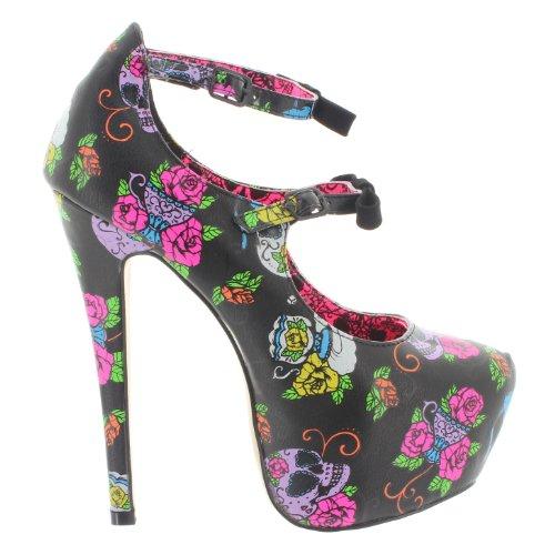 Iron Fist - Zapatos de vestir de material sintético para mujer negro negro negro - negro