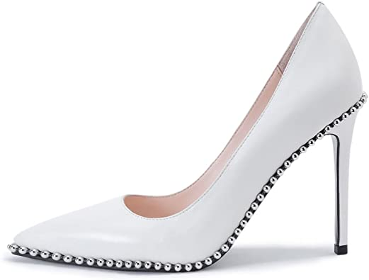 Womens Dress Shoes Pointed Toe Spring Party Shoes High Heels Pumps Work Shoes Sz