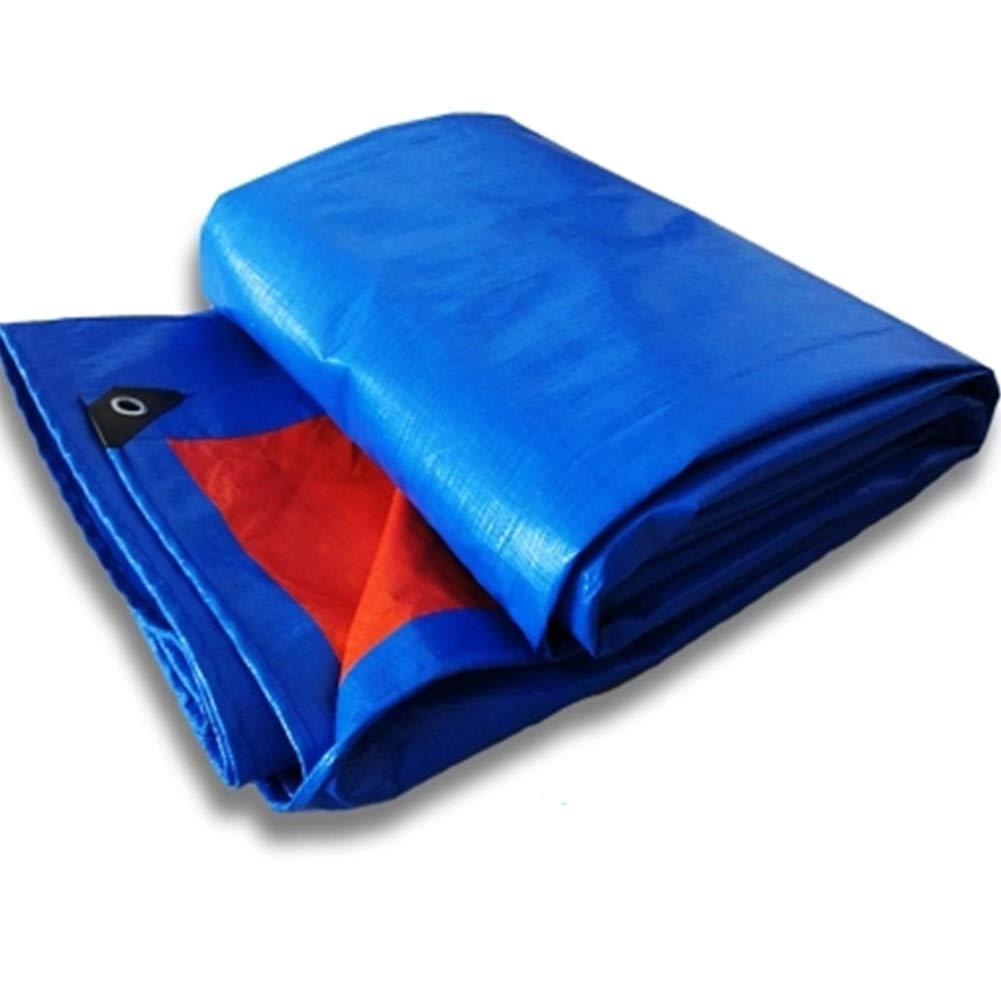 negozio all'ingrosso Telo di Stoffa di di di Tela Cerata Ombreggiamento di Protezione Solare Antipioggia Telo di Protezione per Esterni Resistente all'abrasione HENGXIAO (colore   blu arancia, Dimensioni   6  10m)  la migliore offerta del negozio online