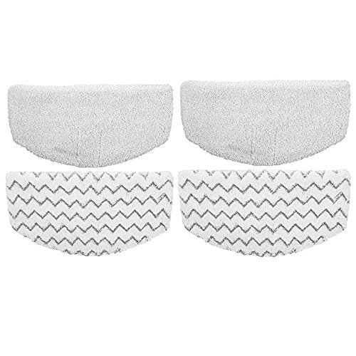 ITidyHome 4 Pack Replacement Pads for Bissell Powerfresh Hard Floor Steam Cleaner 1940 1440 1806 Series Steam Mop Compare to Part # 5938 & 203-2633 (4 Pack)