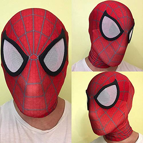 Spider-Man Face Shell 3D Printed Mask | Homecoming Spiderman