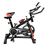 Homgrace Exercise Bike Indoor Cycle Bike, Indoor Bike Trainer (Black)