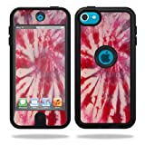 ipod 5 case tie dye - MightySkins Skin Compatible with OtterBox Defender Apple iPod Touch 5G 5th Generation Case Tie Dye 1