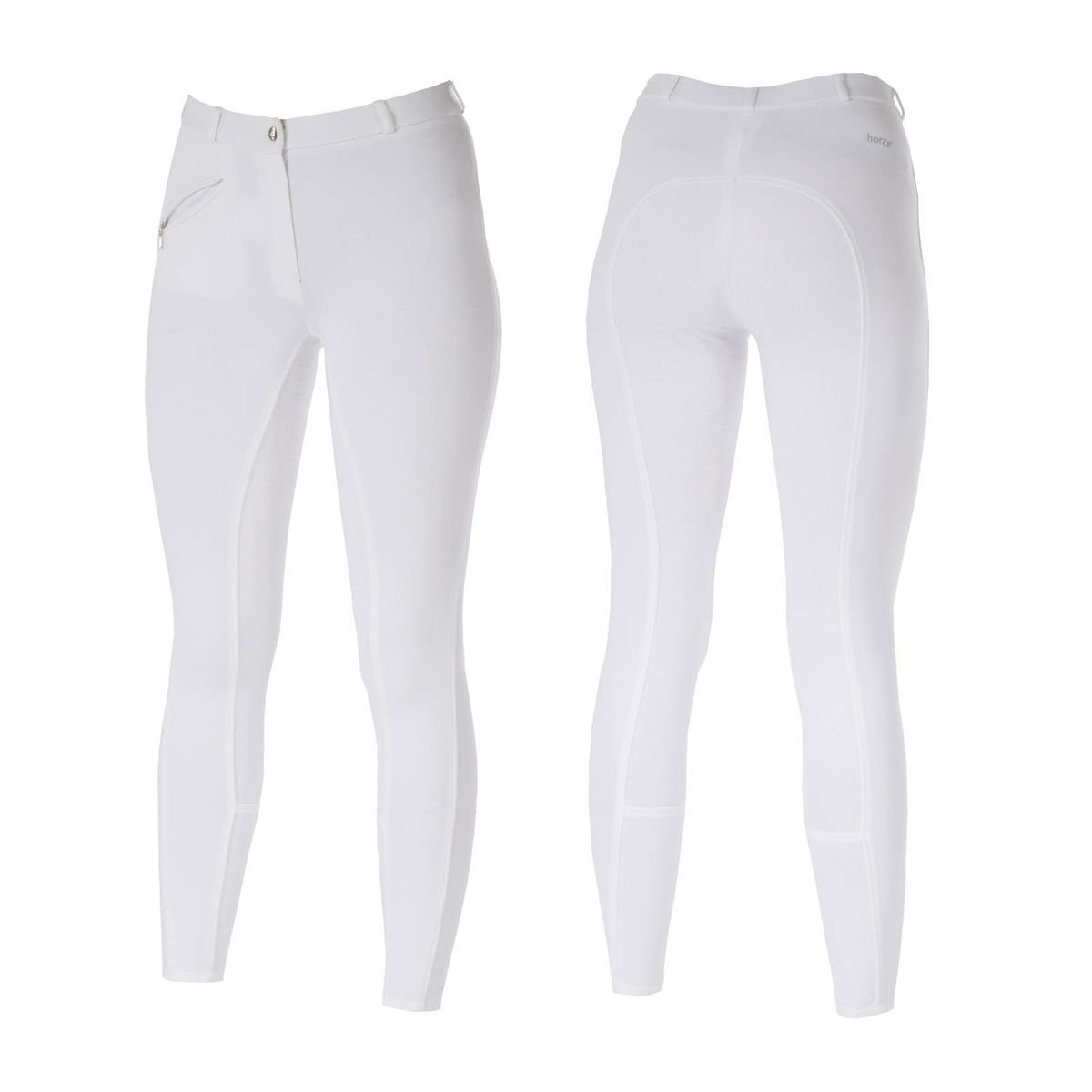Horze Ladies Active Silicone Grip Full Seat Breeches