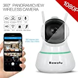 Cheap Bawofu 1080P HD Home Wireless Security Camera 3D Navigation 360° Panoramic Wide Angel Pan Tilt Indoor Night Vision Ip Surveillance Cameras Remote View Via 360Eye S Free Apps for Android and iOS