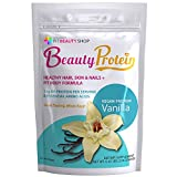 Dr. Phoenyx Beauty Protein for Healthy Hair, Glowing Skin & Stronger Nails - Protein for Women with Vitamins for Hair Growth, Biotin, B Vitamins and More! Vanilla Flavor, Vegan Friendly, GMO Free