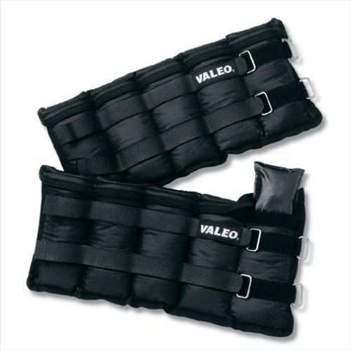 valeo-aw10-10-pound-adjustable-ankle-wrist-weights-5-pounds-each