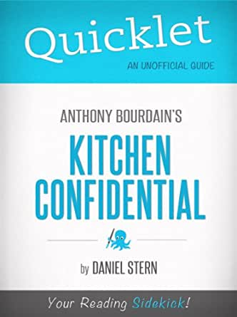 Amazon Quicklet Kitchen Confidential By Anthony
