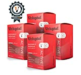 Vivioptal Active 1 Year Supply - Multivitamin & Multimineral Supplement - Ginseng & Omega 3