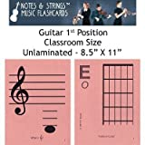 Notes & Strings Guitar 1st Position 8.5
