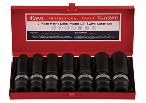 Genius Tools 7 Piece 1/2