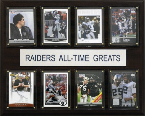 - NFL Oakland Raiders All-Time Greats Plaque