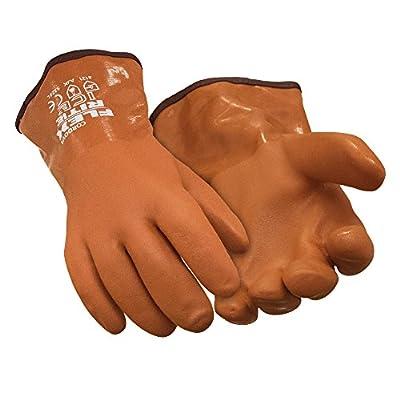 RefrigiWear Flex-Rite Thermal Lined Textured PVC Waterproof Ice Gloves