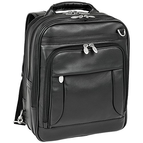 Lincoln Park Leather Computer Briefpack by McKlein USA