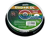 10 Hi-Disc DVD+R DL for Data 8.5GB 8x Speed Dual Layer Inkjet Printable Discs