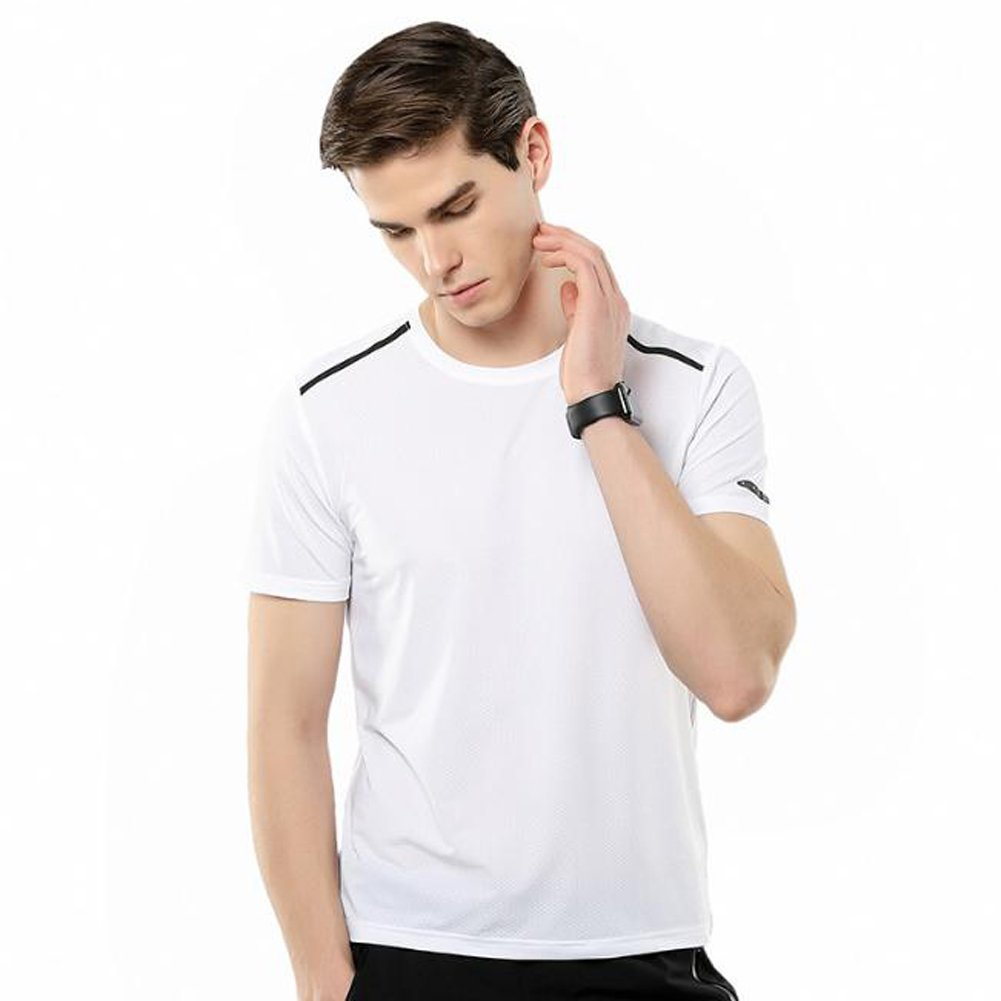 shengzメンズスポーツTシャツクイック乾燥Ideal forワークアウトRunning   B07FCB8998